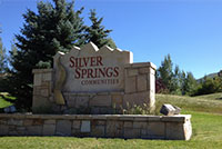 Silver Springs sign